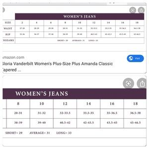 Gloria Vanderbilt Jeans - Nwt Coral slimming jeans